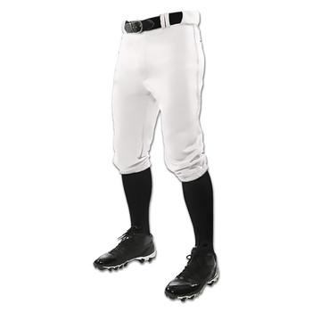 Champro Triple Crown Knicker Youth Baseball Pants - White