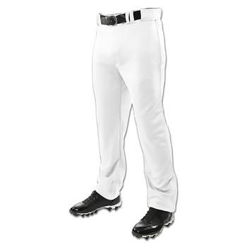 Champro Triple Crown Open Bottom Adult Baseball Pants - White