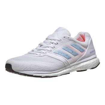 Adidas Adizero Adios Women's Running Sneakers EF1456 - White, Blue, Orange