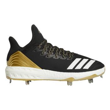 Adidas Icon 4 Men's Baseball Cleats CG5148 - Black, White, Carbon
