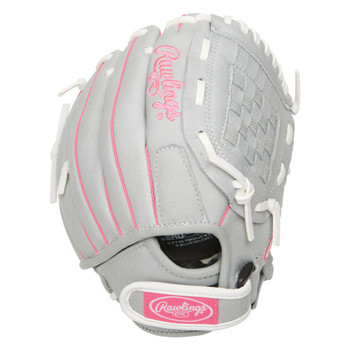 """Rawlings Sure Catch SCSB100P 10"""" Youth Fastpitch Softball Glove - RH Throw"""