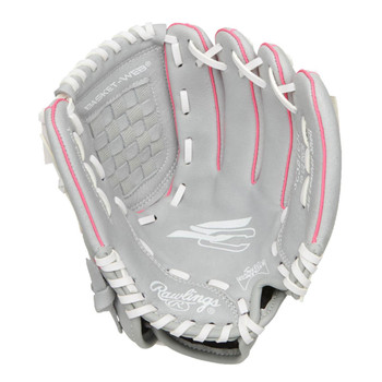 """Rawlings Sure Catch SCSB105P 10.5"""" Youth Fastpitch Softball Glove"""