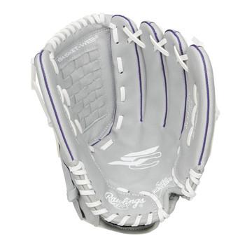 "Rawlings Sure Catch SCSB125PU 12.5"" Youth Fastpitch Softball Glove"
