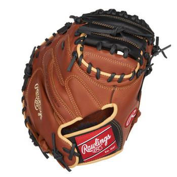 "Rawlings Sandlot SCM33S 33"" Baseball Catcher's Mitt - RH Throw"
