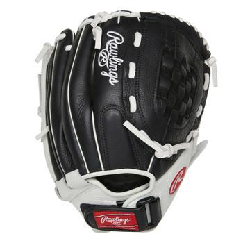 """Rawlings Shut Out RSO120BW 12"""" Fastpitch Softball Glove"""