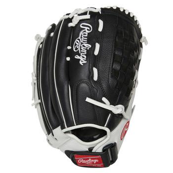 """Rawlings Shut Out RSO1250BW 12.5"""" Fastpitch Softball Glove"""