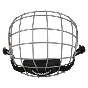 Bauer 2100 Hockey Facemask Cage - Silver