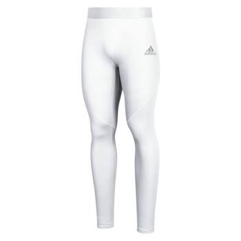 Adidas Alphaskin Sprint Men's Long Tights White