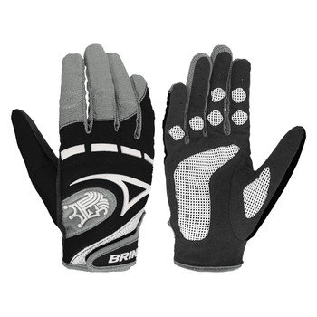 Brine Mantra Women's Lacrosse Gloves - Black