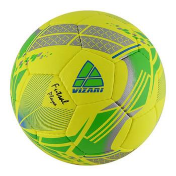 Vizari Playa Low Bounce Futsal Soccer Ball - Yellow, Green, Silver