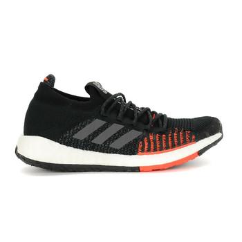 Adidas PulseBOOST HD Men's Running Sneakers FU7333 - Black, Grey, Red