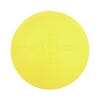 Smart Hockey Cold Weather 55 mm Street Hockey Ball - Yellow
