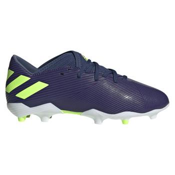 Adidas Nemeziz Messi 19.3 FG Junior Soccer Cleats EF1814 - Indigo, Green, Purple
