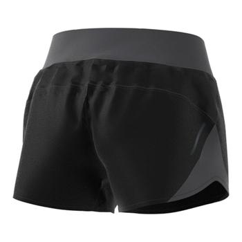 """Adidas Run It 3"""" Women's Running Shorts FL9017 - Black, Grey (Back)"""