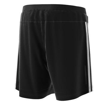 "Adidas 3 Stripe 7"" Shorts DM1666 - Black, White (Back)"