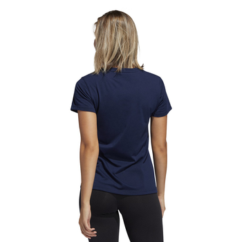 Adidas Unite Badge of Sport Grit Women's Tee FT8633 - Back View