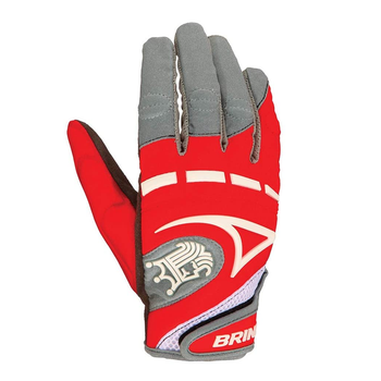 Brine Mantra Women's Lacrosse Gloves - Red