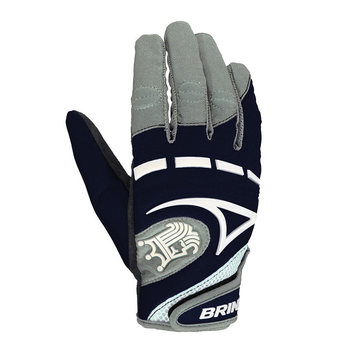 Brine Mantra Women's Lacrosse Gloves - Navy