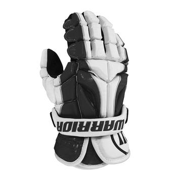 Warrior Burn Senior Goalie Gloves - Black, White
