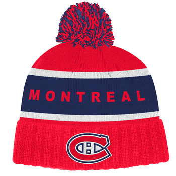 Adidas Montreal Canadiens Cuffed Knit Pom Hat