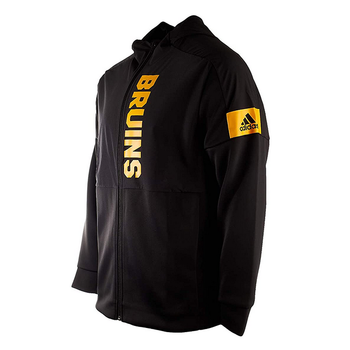 Adidas Game Zone Boston Bruins Full Zip Jacket