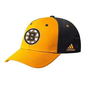Adidas Coach Sideline Flex Fit Hat - Boston Bruins