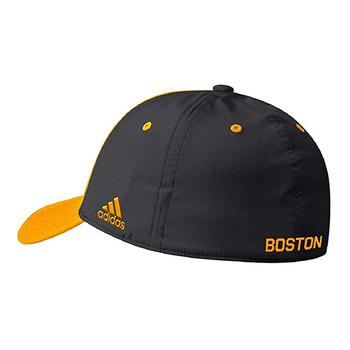 Adidas Coach Sideline Flex Fit Hat - Boston Bruins Back