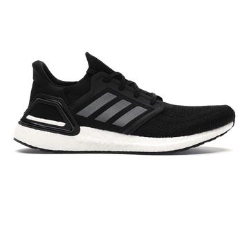 Adidas UltraBOOST 20 Women's Running Sneakers EG0714 - Black, Metallic, White