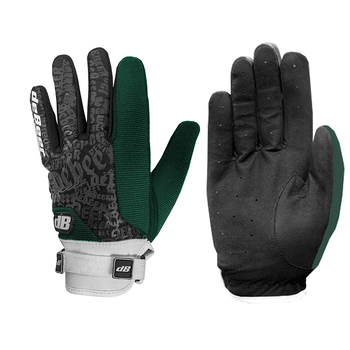 Debeer Fierce Women's Lacrosse / Field Hockey Gloves - Forest Green
