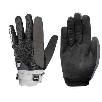 Debeer Fierce Women's Lacrosse / Field Hockey Gloves - Gray