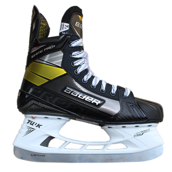 Bauer S20 Supreme Ignite Pro + 2020 SMU Senior Ice Hockey Skates