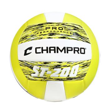 Champro ST200 Pro Performance Volleyball - Optic Yellow Camo