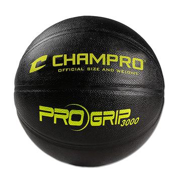 Champro Pro-Grip 3000 Indoor Composite 28.5 Inch Women's Basketball - Black/Yellow