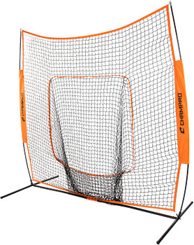 Champro MVP Portable 7' x 7' Sock Screen with Carry Bag