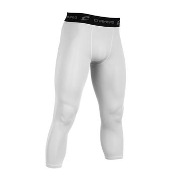 Champro 3/4 Length Compression Pant - White