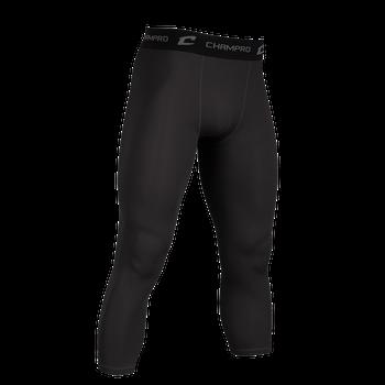 Champro 3/4 Length Compression Pant - Black