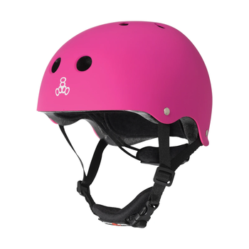 Triple 8 Lil 8 Helmet Youth Ages Toddler to 5 - Neon Pink