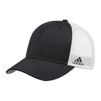 adidas Adjustable Trucker Mesh Cap - Black