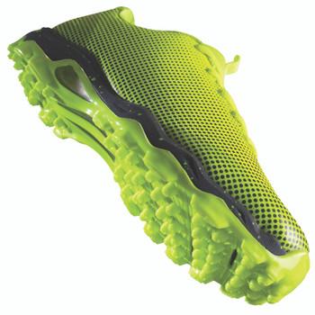 Grays Flight Women's Field Hockey Shoe -  Neon Green