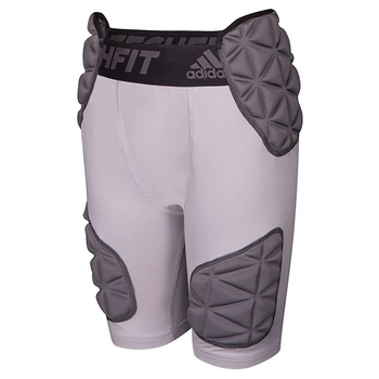 adidas Smash Tech Fit Youth Padded Girdle Short Pant - Gray