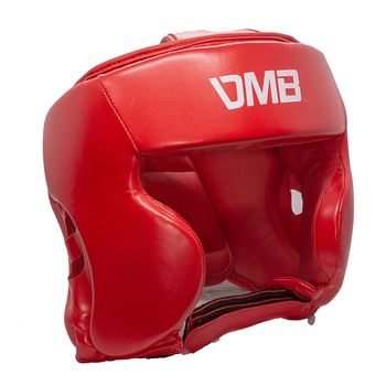DMB Red Boxing, MMA, Sparring Head Guard - Red