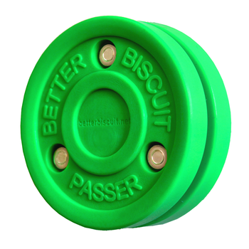 EZ Goal Better Biscuit Off-Ice Passing Training Puck - Light Green