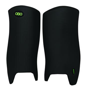 OBO ROBO Mini Goalie Leg Guards for Smaller Players - Black