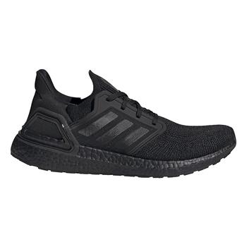 Adidas UltraBOOST 20 Men's Running Sneakers EG0691 - CORE BLACK, CORE BLACK, SOLAR RED