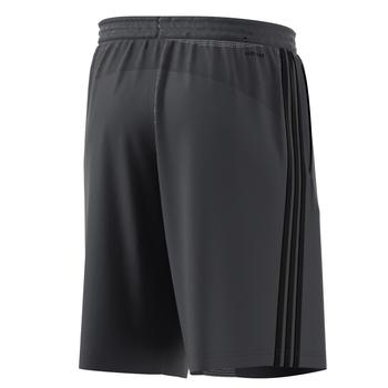 adidas Design2Move Climacool 3 Stripe Knit Shorts DU1237 - Grey Six