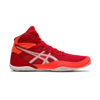 Asics Matflex 6 GS Junior Wrestling Shoe - Flash Red, Coral