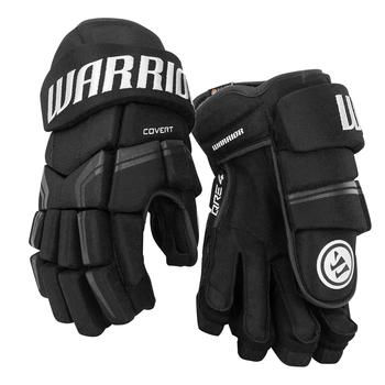 "Warrior Convert QRE4 Junior 12"" Ice Hockey Gloves - Black"