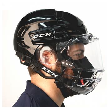 CCM Game on Under Shield/Cage Mask - Black