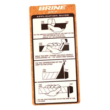 Brine Field Hockey Replacement Grip - Black