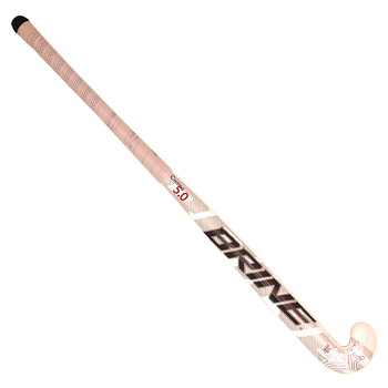 Brine Cempa 5.0 Midi-Toe 22mm Bow Composite Field Hockey Stick - White